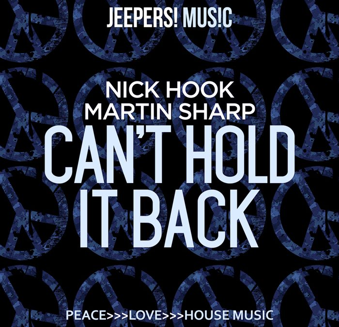 'Can't Hold It Back' by NICK HOOK & MARTIN SHARP