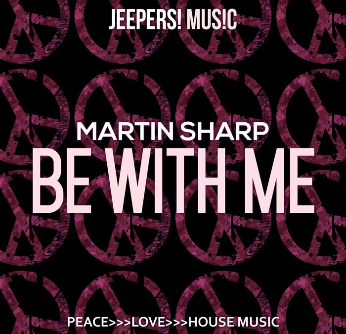 'Be With Me' by MARTIN SHARP